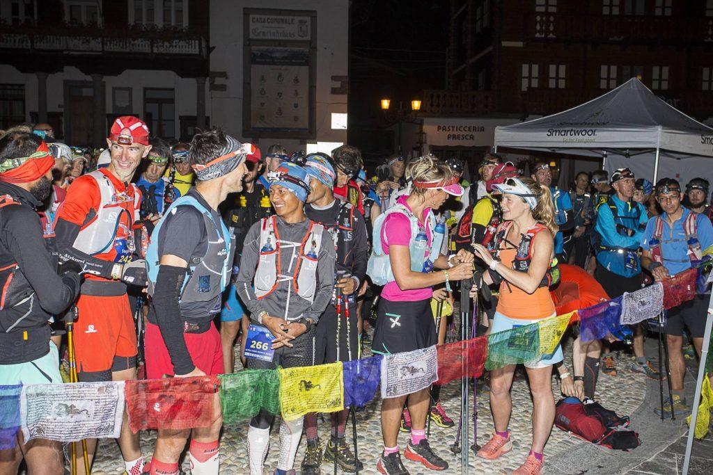 Start line ultra tour monte rosa