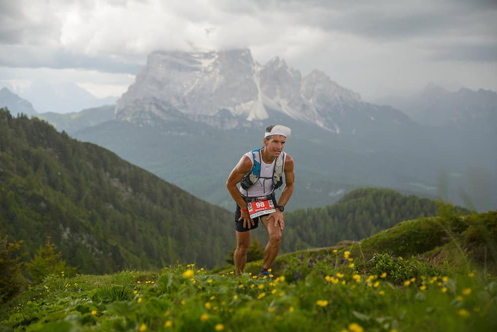 Petter Restorp Dolomiti Extreme Trail.