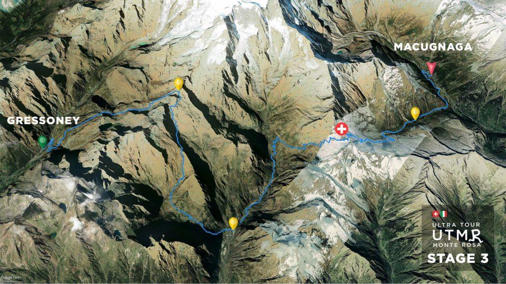 UTMR earth stage 3 track 2021
