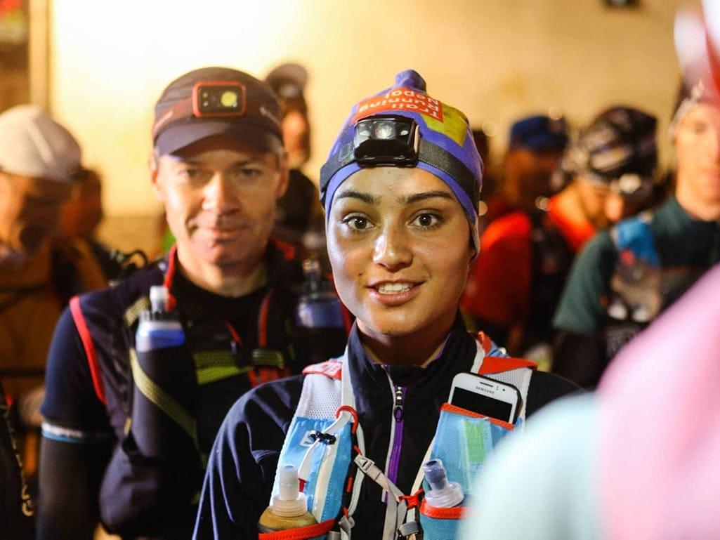female ultra runner nepal
