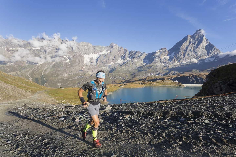 Sebastian Chaigneu running monte rosa